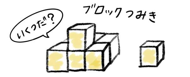 ブロック積み木