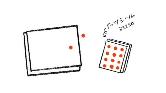 ドッツカードの作り方