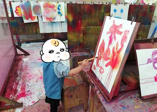 都内で絵の具で遊べる所