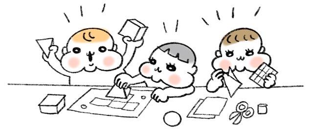 幼児教室に通う子供