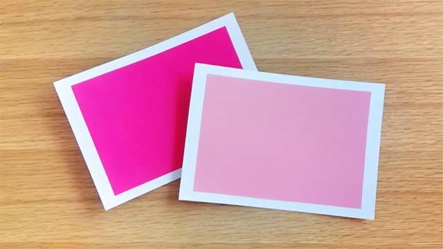 トーナルカラーカードの作り方