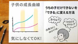 子供の成長曲線の目安