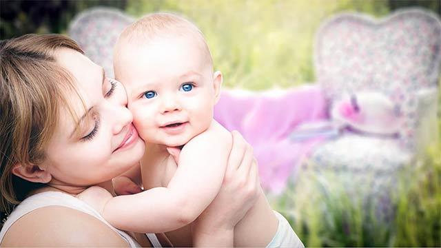 赤ちゃんの抱き癖と体質
