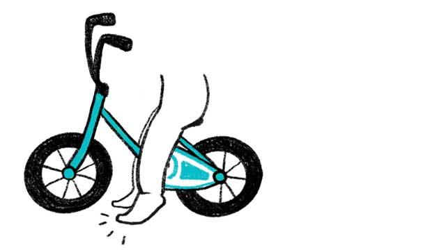 子供への自転車の教え方2