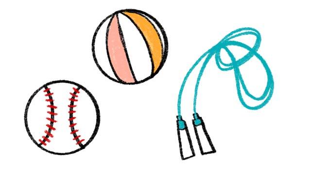 選び取りの種類、ボール