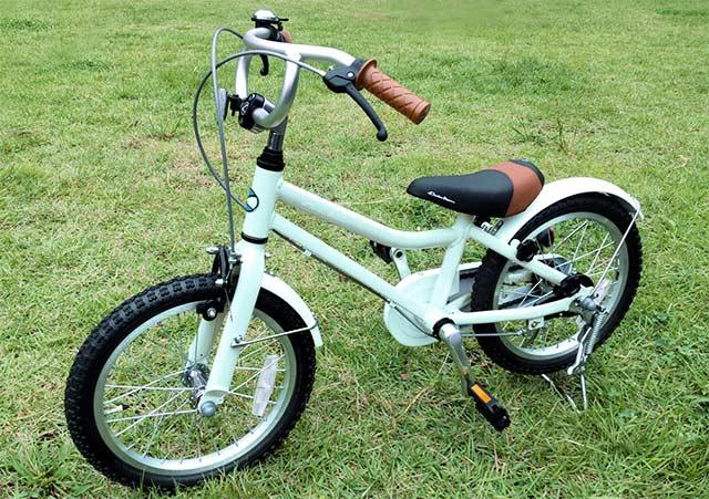 3歳、4歳の自転車